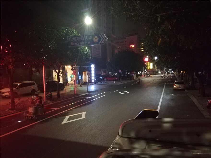 市政道路划线-南宁杭州路