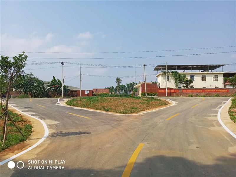 广西西乡塘区市政道路标线